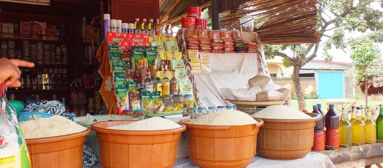 Marché au Bénin