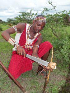 Daniel Mpaayo Tresurer gh Kenya Responsible GHA Amboseli