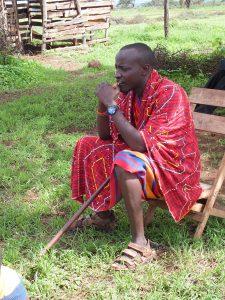 Lengishon Lemalon ghKenya Director GHA Responsible Amboseli