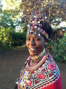 Sabina Ttoye Director CBO Nabulaa Ole Polos (GHA Kenya 2015)