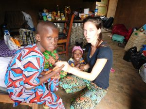 JOHANNE CAZANOBE Bénévole GHA Septembre 2015 (Bénin)