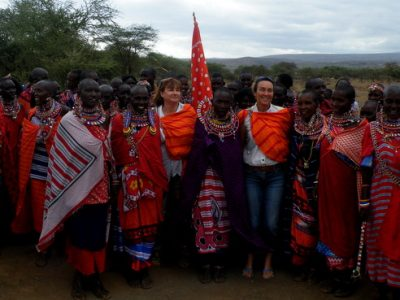 Amboséli Florence Cazanobe et Jeanette James