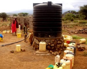 GAZELLE HARAMBEE Water project Riza community 2013 (Kenya)