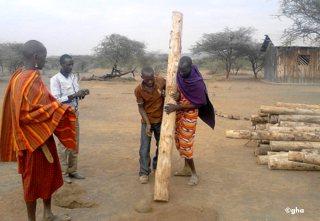 GAZELLE HARAMBEE association solidarité en afrique OLMOTI School (Kenya) 2013