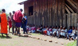 GAZELLE HARAMBEE association de solidarité en afrique OLMOTI School (Kenya) 2012/2013/2014 et Florence Cazanobe