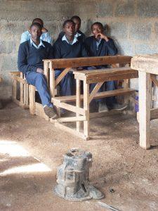 """GAZELLE HARAMBEE Formations des jeunes LOITOKITOK """"Skylink youth Polytechnic"""". 2014 (Kenya)"""