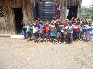 GAZELLE HARAMBEE Water project OLMOTI School 2014 (Kenya)