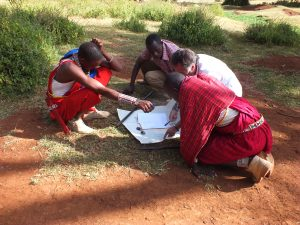 GAZELLE HARAMBEE Ormiti project 2014 (Kenya) and Jean Pierre Delsol