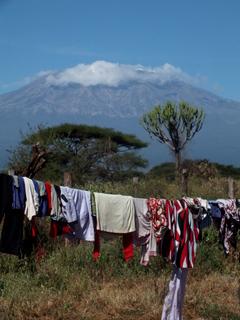 Le Kilimanjaro en Mai 2014