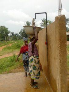 GAZELLE HARAMBEE Projet Forage Djégou Nagot 2014 (Benin)