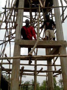 GAZELLE HARAMBEE Projet Forage Djégou Nagot 2014 (Benin) et Daniel Oke