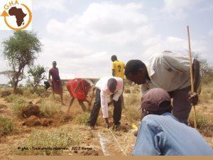 GAZELLE HARAMBEE WATER LEMONGO Kenya 2012