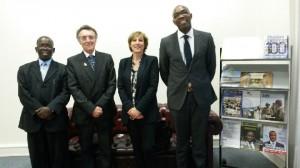 GAZELLE HARAMBEE Kenyan Embassy 2014 Paris