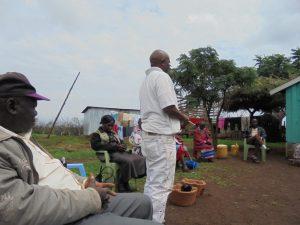 GAZELLE HARAMBEE PROJET ORMITI Atelier JIKO 2014 (Kenya)