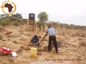 GAZELLE HARAMBEE WATER LEMONGO SCHOOL Kenya 2012