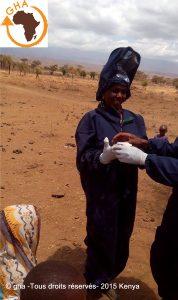 0GAZELLE HARAMBEE Projet ORMITI 2015 Kenya