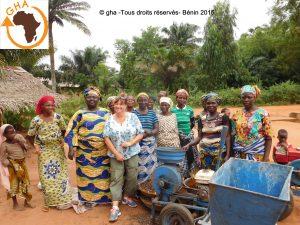 GHA Projet Mi No Pô Djégou Nagot 2015 Bénin