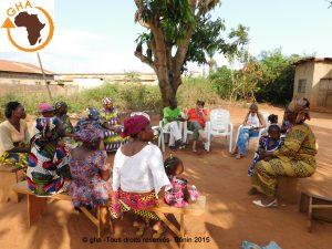 """GHA Projet Micro crédit Abomey Calavi """"Ma Joie"""" Bénin 2015"""