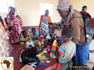Afrique, Kenya, Amboseli, Association Gazelle Harambee , Projet école maternelle ANG'ATA'RANGAI GHA 2017