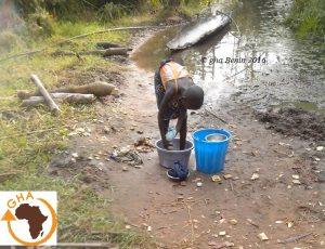 Gazelle Harambee, Association, Afrique,Bénin,Forage,